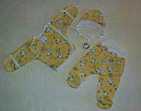 Комплект одежды   для новорожденных из 3-х предметов на байке! Украина!