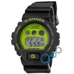 Спортивные наручные часы Casio G-Shock DW 6900 Green-Black