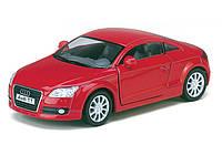 Машина Kinsmart 1:32 Audi TT Coupe KT5335W металл инерционная 1:32