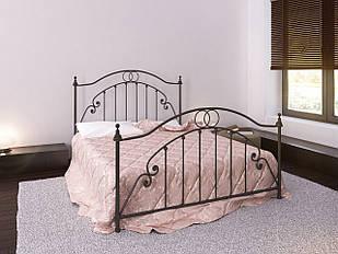 Ліжко коване в спальню Флоренція Метал-дизайн
