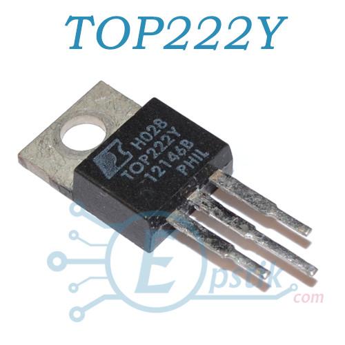 TOP222Y, PWM контроллер питания, 15Вт., TO220