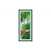 """Набор для вышивания крестиком """"Райский сад"""" 38*92см, H072(2)"""