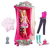 Игровой набор Barbie Волшебный шкаф с набором одежды и кукла Барби (T2570)