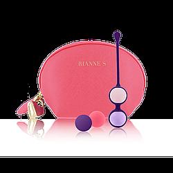 Rianne S Pussy Playballs Coral Rose  - Набор вагинальных шариков