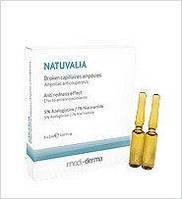 Антикуперозный концентрат Capillaires Ampoules NATUVALIA, 5ампул х 2мл