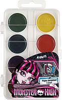 Краски акварельные KITE 2014 Monster High 065