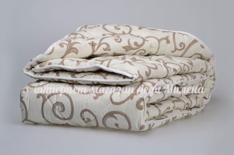 Зимнее хлопковое одеяло из овечьей шерсти двухспальное оптом и в розницу