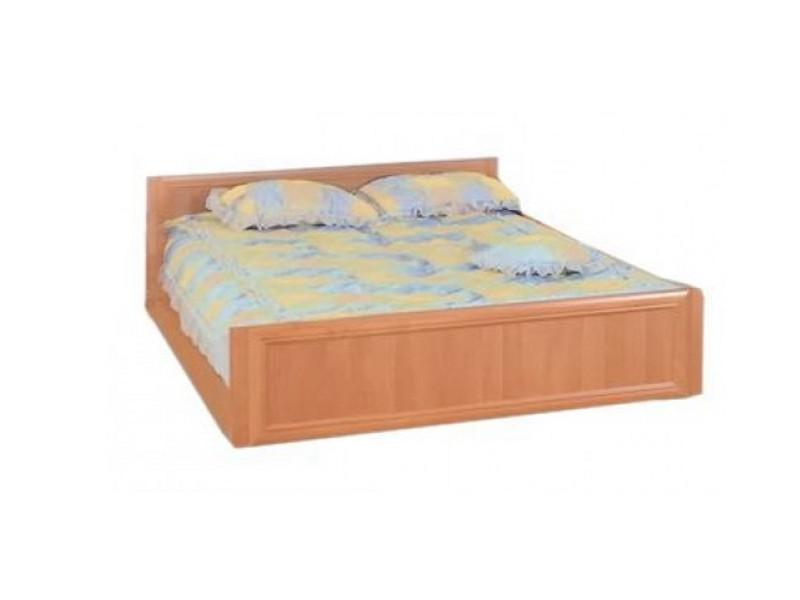 Ліжко з ДСП/МДФ в спальню 2-сп (б/матрасу, та каркаса) Соня горіх Світ меблів