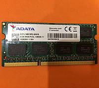 Оперативная память SO-DIMM DDR3L 8GB PC3L-12800S 1600MHz Adata