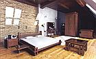 Туалетний будуарний столик з дерева в спальню Сакура Т2  (Масив буку) Sovinijn, фото 2