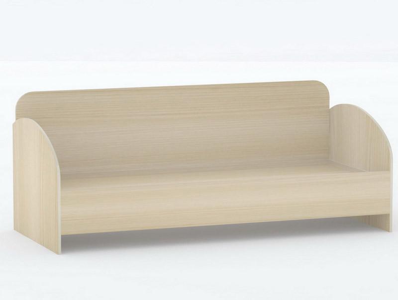 Ліжко односпальне в спальню/дитячу КР-3 Тіса меблі