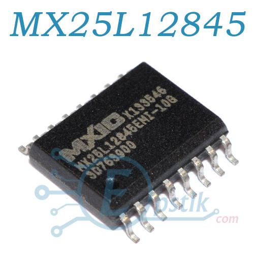 MX25L12845EMI-10G, микросхема памяти 128-Mbit, SOP16 300mil