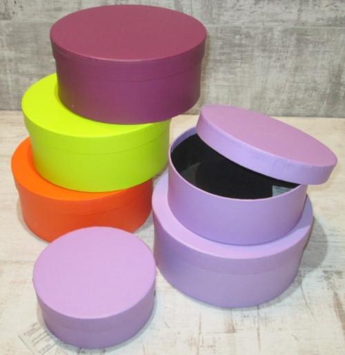 Шляпные коробки 3 в 1, плоские