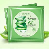Успокаивающая тканевая маска с алоэ BIOAQUA Soothing & Moisture Aloe Vera 92% Gel Face Mask
