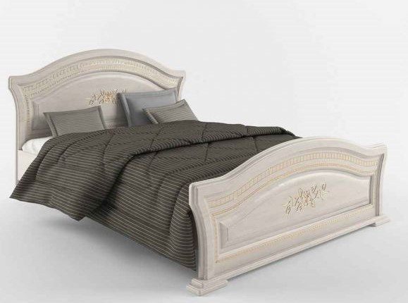 """""""Венера Люкс"""" Ліжко з ДСП/МДФ в спальню 160 Сокме"""
