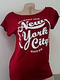 """Женская футболка """"Big Apple"""" - норма Распродажа, фото 5"""