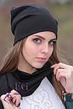 Набор «Шапка и шарф» (двойной трикотаж), фото 7