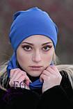 Набор «Шапка и шарф» (двойной трикотаж), фото 8