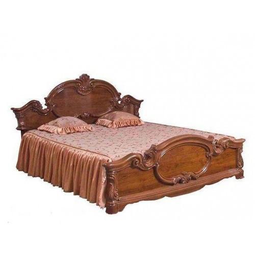 Ліжко з ДСП/МДФ в спальню 2-сп (б/матрасу, та каркаса) Імперія кальвадос Світ Меблів