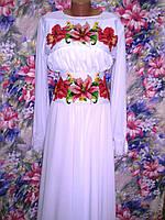Плаття жіноче №55 Сині іриси 1329b6928cac8