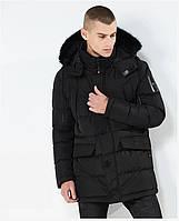 Куртка парка мужская холодная осень зима бренд City Channel (Канада) 03003-01 цвет черный