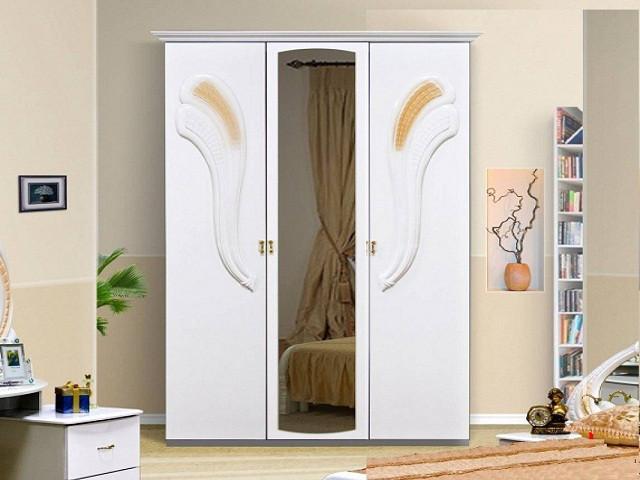 Шафа (шкаф) з ДСП/МДФ в спальню/вітальню/дитячу Лола 3Д Миро-Марк
