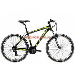 Горный велосипед Leon HT-85 26 дюймов черно-салатный