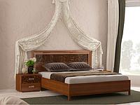 Ліжко з ДСП/МДФ в спальню Флора 1,6х2,0 підйомне з каркасом Миро-Марк