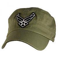 Кепка Eagle Crest Usaf Logo Flat Top-5 Green Olive (6089) КОД: 396431
