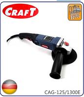 ☑️ Болгарка Craft CAG 125/1300E (регулировка оборотов)