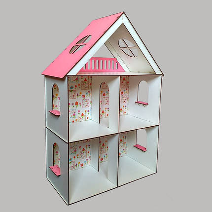 Кукольный домик FANA для LOL LITTLE FUN maxi с обоями (2105), фото 2
