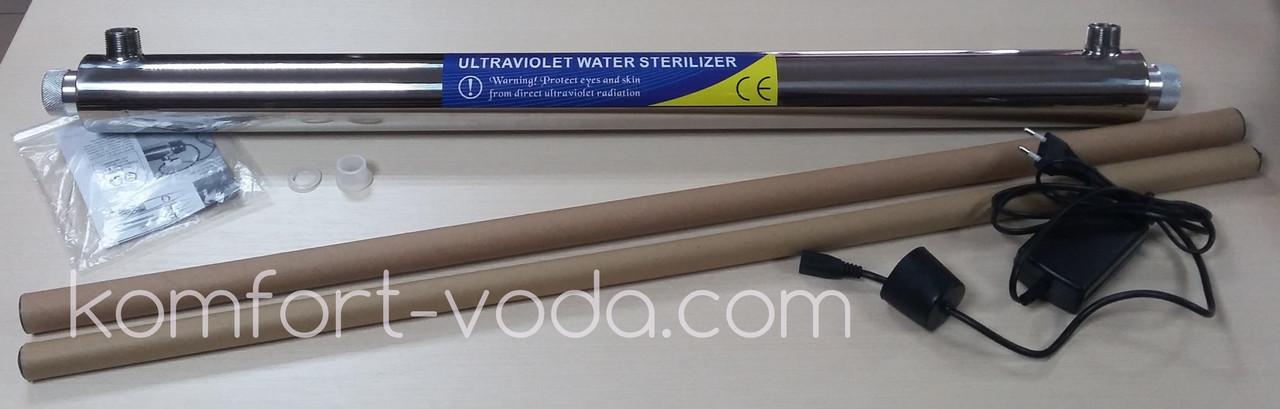Установка ультрафиолетового обеззараживания UV-12G, 55W