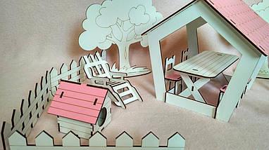 Набір меблів FANA Подвір'я з альтанкою 18 предметів (1110), фото 2