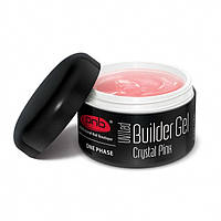 PNB UV/LED One Phase Builder Gel Crystal Pink/ гель прозрачно-розовый 50 мл