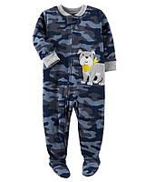 Флисовая теплая пижама Carters для мальчика, 150 см (10)