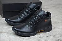 Мужские кожаные зимние ботинки Gest , фото 1