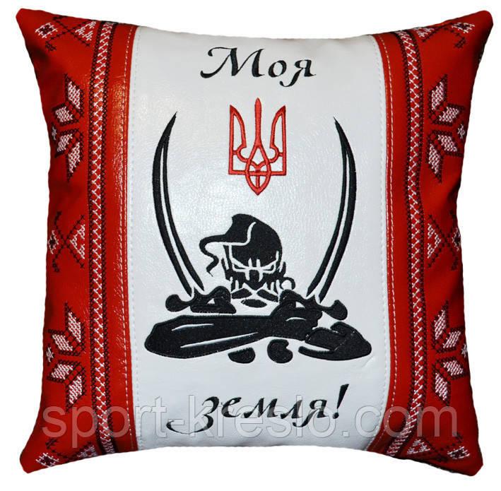 Подушка сувенірна національна із тризубом