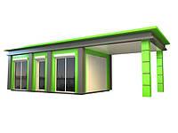 Разработка дизайна остановочных павильонов