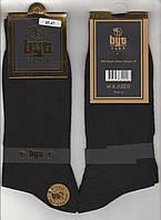 Носки мужские демисезонные 100% хлопок Byt Club, ароматизированные, 45-47 размер, чёрные, 02458