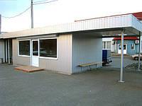 Производство остановочного павильоны и комплекса