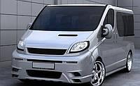 Боковые накладки на пороги для Opel Vivaro стиль - MAGNUS