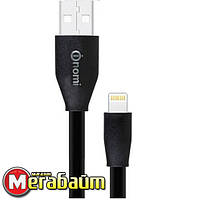 Кабель Nomi DCF 15i USB-Lightning, 1.5м Black (316199)