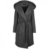 Пальто Only Riley Wool Blend Wrap Dk Grey - Оригинал 670454f64f6b2