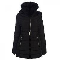 Зимняя куртка Golddigga Belted Bubble Black - Оригинал