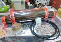 11m2 Теплый пол инфракрасный 11 кв.м  ReXva PTC + терморегулятор, фото 1