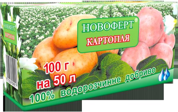 Удобрение Картофель , 100г, Новоферт