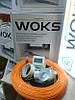 Woks-10 обогрев труб 16м нагревательного кабеля
