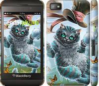 """Чехол на Blackberry Z10 Чеширский кот 2 """"3993c-392-7773"""""""