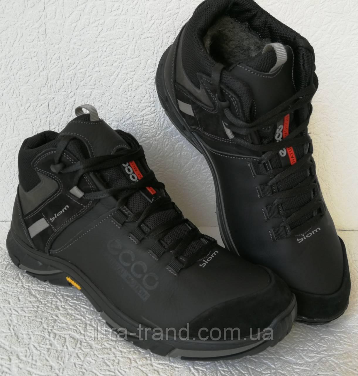 dfcd23f7 Экко зимние кожаные ботинки из кожи мех Ессо кроссовки черные, цена 1 169  грн., купить в Харькове — Prom.ua (ID#793496863)