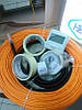 31м Woks-10 для обігріву труб нагрівального кабеля